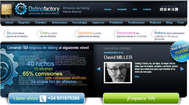 Datingfactory.es: plataforma de programas de encuentros