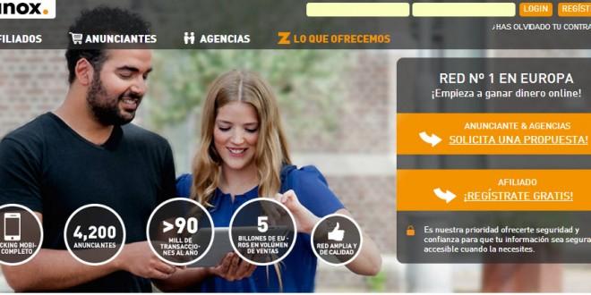 Zanox afiliados para España: análisis de la red de afiliación