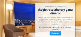 Booking afiliados: campaña en Publicideas o afiliacion directa