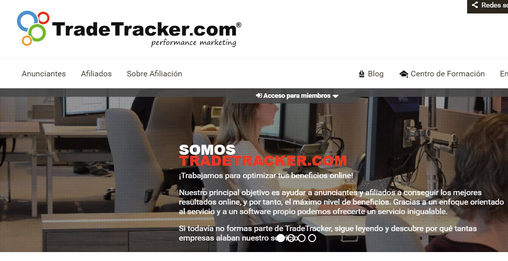 tradetracker afiliados