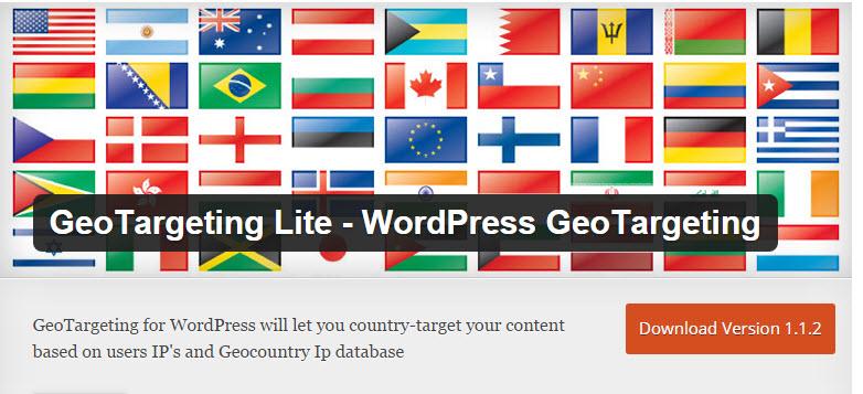 wordpress geotargeting