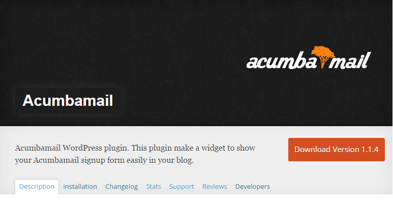 acumbamail wordpress