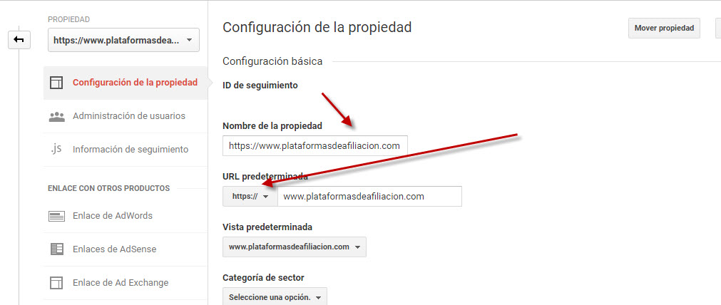https en google analytics